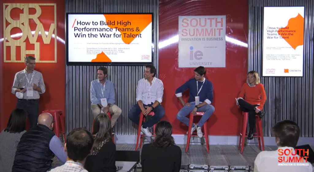 South Summit 2021: How to Build High-Performance Teams & Win the War for Talent